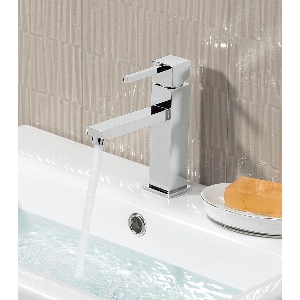 Crosswater - Logic Monobloc Basin Mixer Tap - LO110DNC Profile Large Image