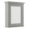 Old London 600mm Mirror Cabinet - Storm Grey - LON214 profile small image view 1