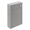Old London 550mm WC Unit - Storm Grey - LON241 profile small image view 1