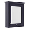Old London 600mm Mirror Cabinet - Twilight Blue - LON314 profile small image view 1
