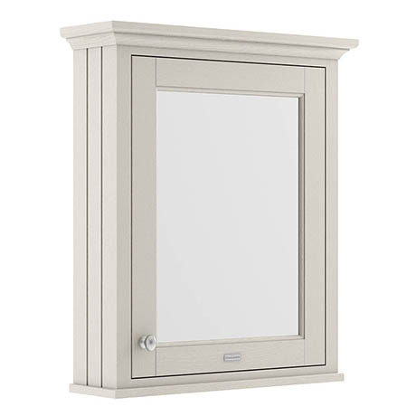 Old London 600mm Mirror Cabinet - Timeless Sand - LON414