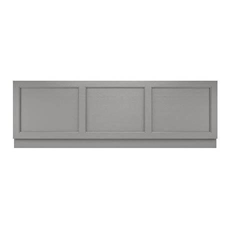 Old London Front Bath Panel & Plinth - Storm Grey - 2 Size Options