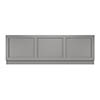 Old London Front Bath Panel & Plinth - Storm Grey - 2 Size Options profile small image view 1