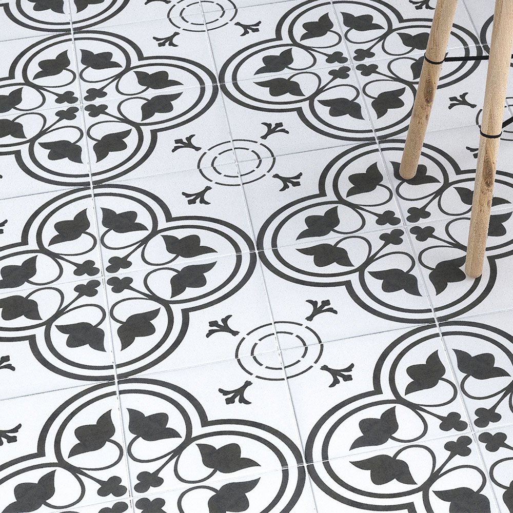 Louis Wall and Floor Tiles - 200 x 200mm