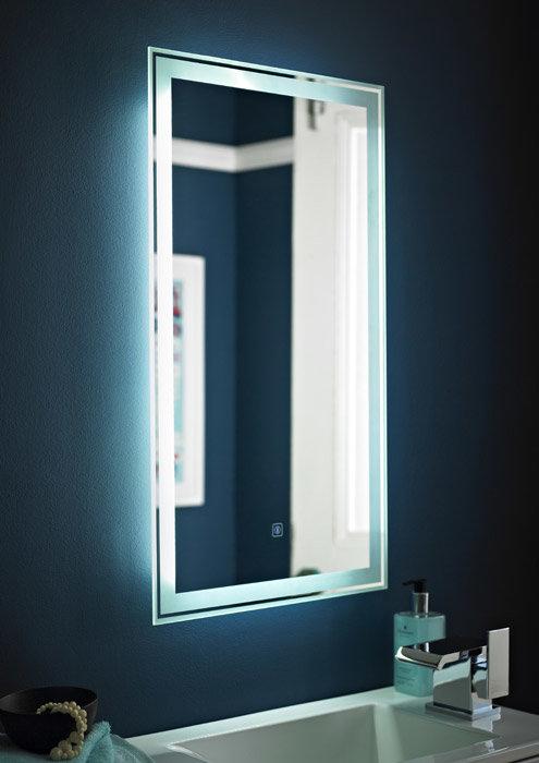 Premier - Glow Touch Sensor Backlit Mirror - LQ034 Large Image