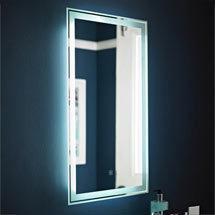Premier - Glow Touch Sensor Backlit Mirror - LQ034 Medium Image