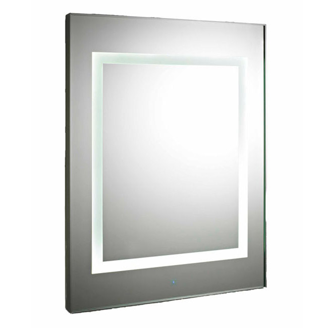Premier - Level Square Motion Sensor LED Mirror w/ De-Mister Pad - LQ035