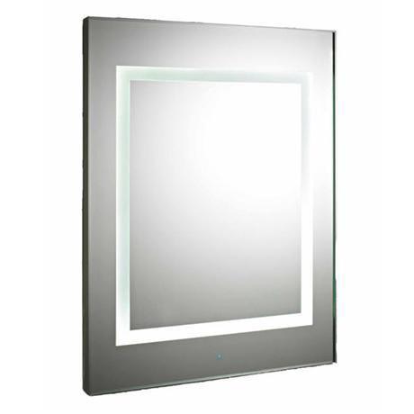 Premier - Level Square Motion Sensor LED Mirror w/ De-Mister Pad - LQ035