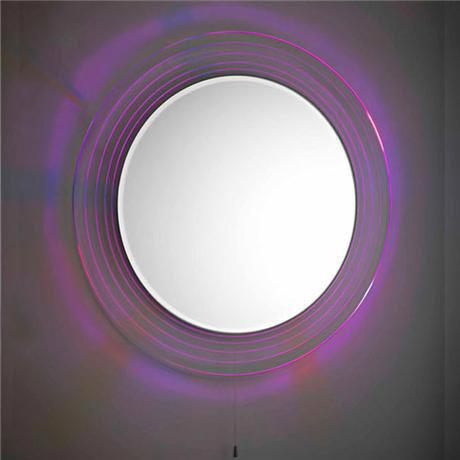 Premier - Orpheus Colour Changing LED Mirror - 600mm Diameter - LQ037