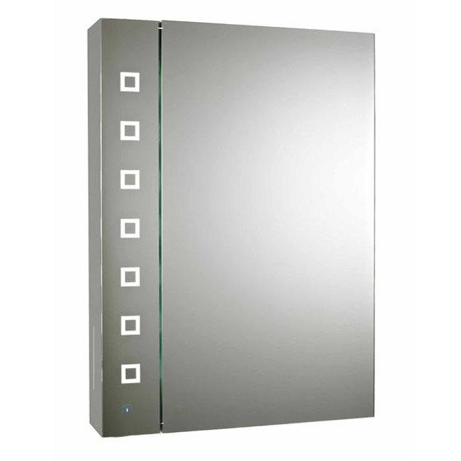 Premier Enigma Touch Sensor LED Mirror Cabinet