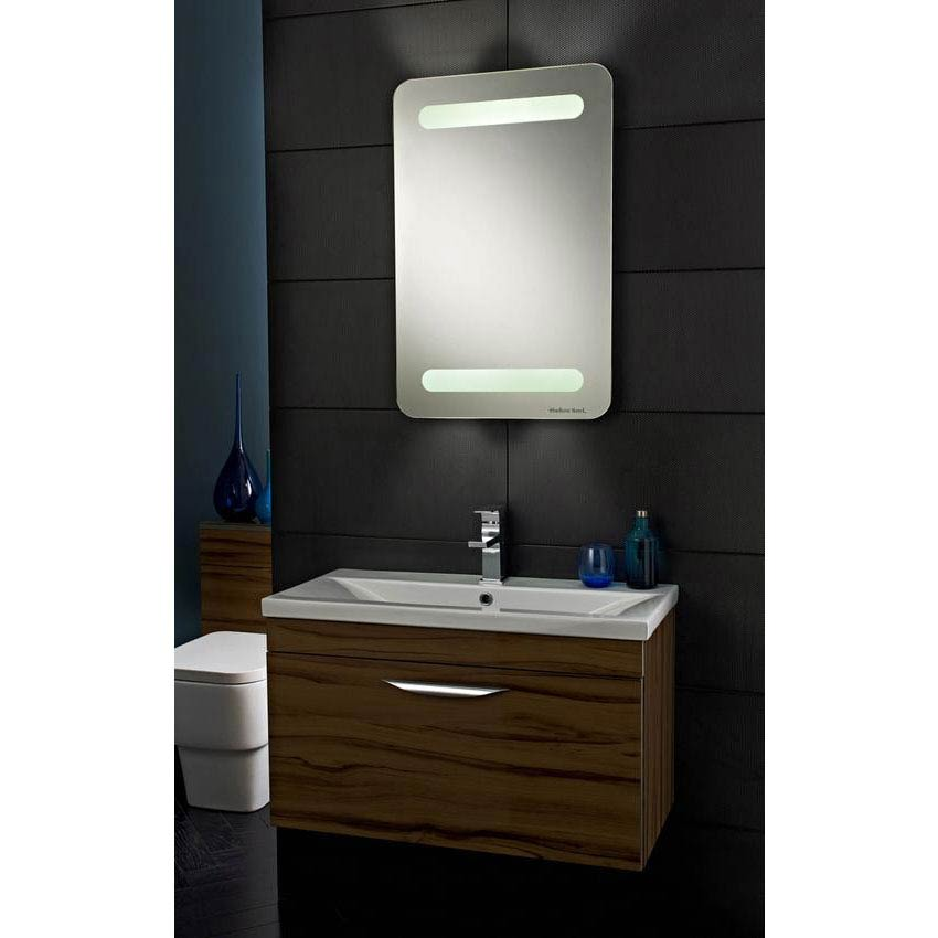 Hudson Reed - Optic Motion Sensor LED Mirror with Ambient Lighting - LQ061 Feature Large Image