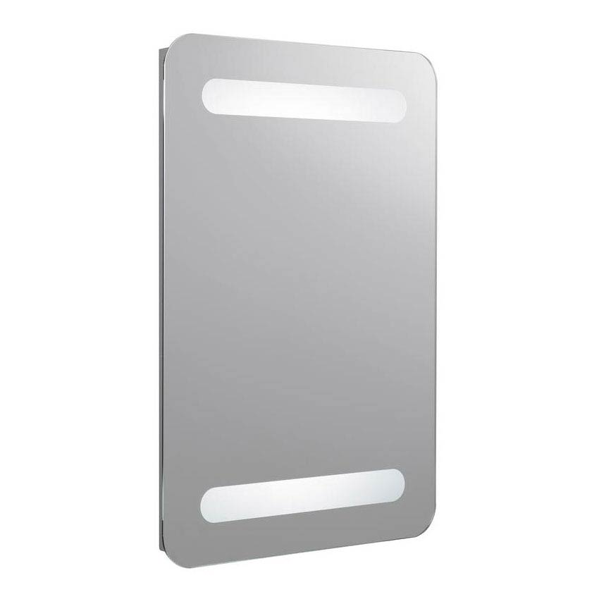 Hudson Reed - Optic Motion Sensor LED Mirror with Ambient Lighting - LQ061 Large Image