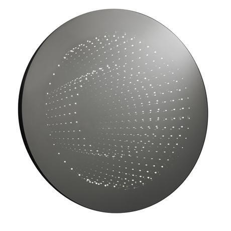 Ultra Zodiac Round Infinity LED Mirror - LQ066