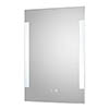Hudson Reed Vivo LED Touch Sensor Mirror with Demister Pad - LQ084 profile small image view 1