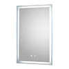 Hudson Reed Dazzle LED Touch Sensor Mirror with Demister Pad - LQ085 profile small image view 1
