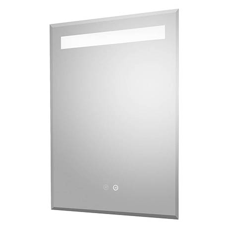 Hudson Reed Vizor 500mm LED Touch Sensor Mirror with Demister Pad - LQ086