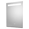 Hudson Reed Vizor 500mm LED Touch Sensor Mirror with Demister Pad - LQ086 profile small image view 1