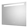 Hudson Reed Vizor 800mm LED Touch Sensor Mirror with Demister Pad - LQ087 profile small image view 1