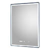 Hudson Reed Lustre LED Touch Sensor Mirror with Clock & Demister Pad - LQ088 profile small image view 1