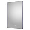 Hudson Reed Reverie 500mm LED Touch Sensor Mirror with Demister Pad - LQ089 profile small image view 1