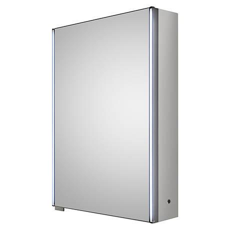Hudson Reed Meloso LED Motion Sensor Mirror Cabinet with Shaver Socket - LQ093