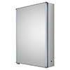 Hudson Reed Meloso 500mm LED Motion Sensor Mirror Cabinet with Shaver Socket - LQ093 profile small image view 1