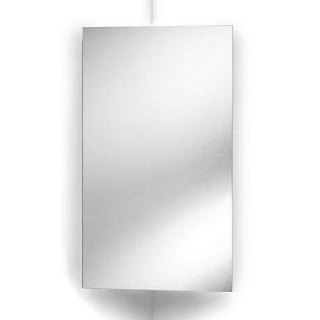 Ultra Avant Stainless Steel Corner Mirrored Cabinet - LQ301