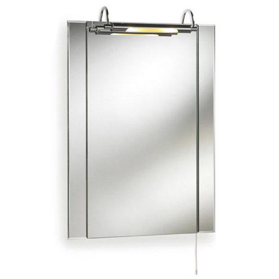 Ultra Pallas Bathroom Mirror with Light - LQ305 Large Image