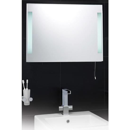 Hudson Reed Adela Backlit Bathroom Mirror - LQ345 profile large image view 2