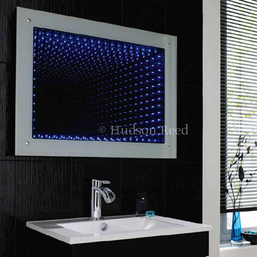 Hudson Reed Lucio Infinity LED Mirror - LQ362 Profile Large Image