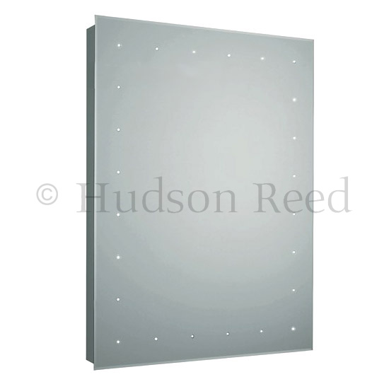 Hudson Reed Purity LED Sensor Mirror with Shaving Socket & De-Mist Pad - LQ366 profile large image view 1