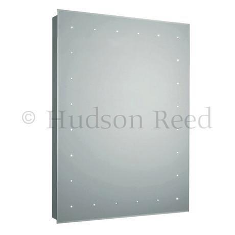 Hudson Reed Purity LED Sensor Mirror with Shaving Socket & De-Mist Pad - LQ366