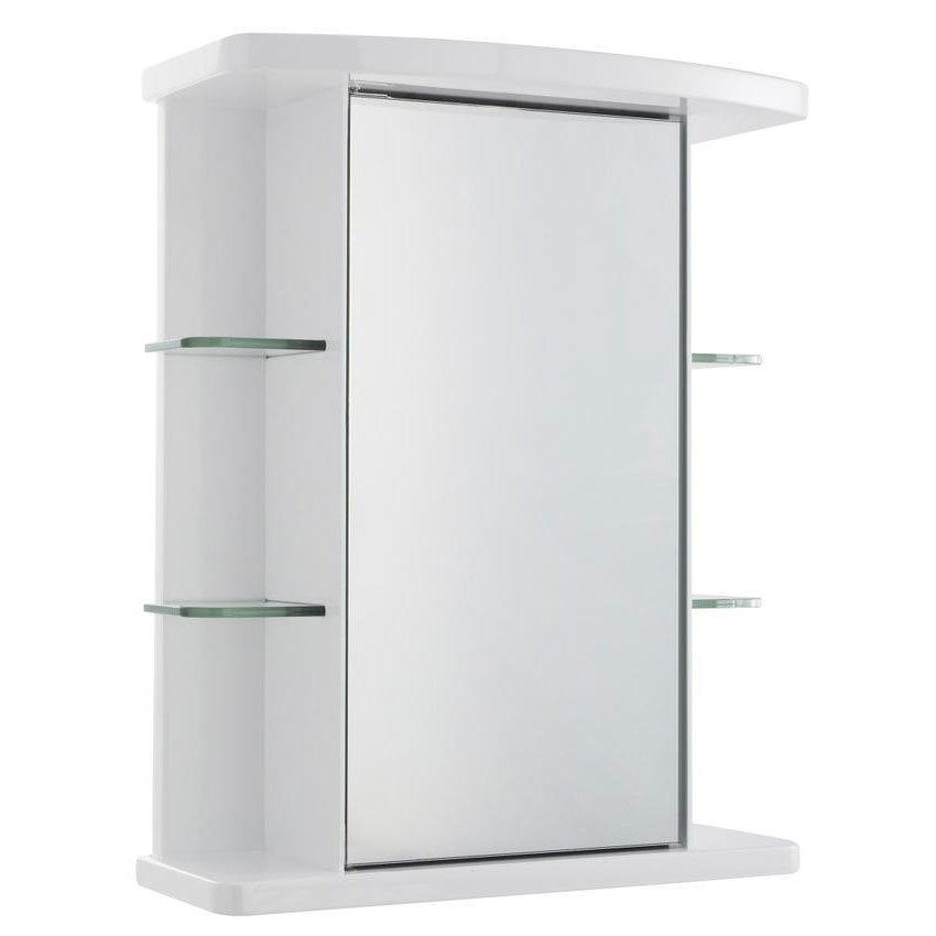 Ultra Verve Single Mirror Cabinet - LQ372 Large Image