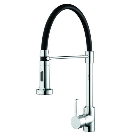 Bristan - Liquorice Monobloc Kitchen Sink Mixer with Pull Out Spray - LQR-PROSNK-C