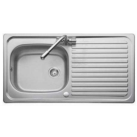 Marvelous Rangemaster Linear 950 X 508Mm Stainless Steel 1 Bowl Kitchen Sink Lr9501 Download Free Architecture Designs Scobabritishbridgeorg