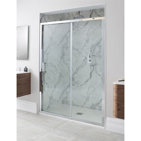 Simpsons - Elite Single Slider Shower Door - Various Size Options
