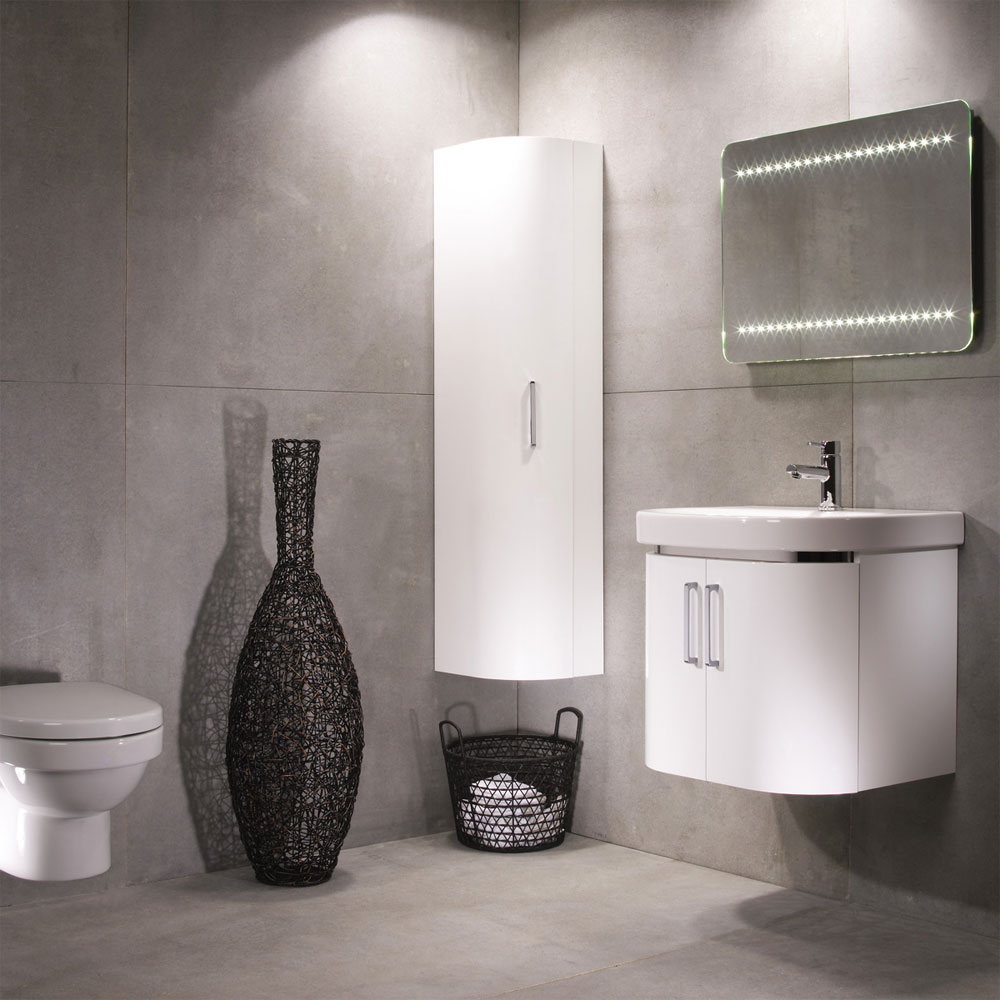 Roper Rhodes Luxe 600mm 2 Door Wall Mounted Unit Profile Large Image
