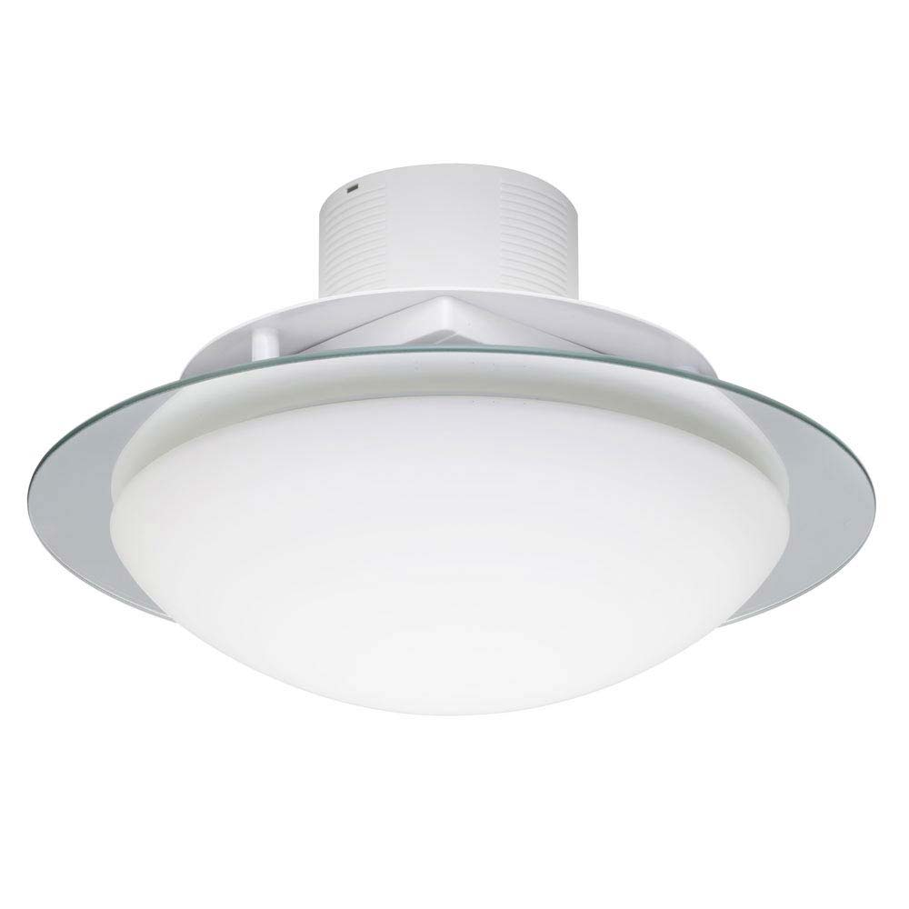 Forum LumenAir Invierno 2 Light Plafon Fitting with Extractor Fan - LUM-26133-CHR profile large image view 1