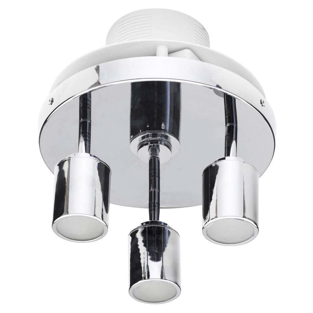 Forum LumenAir Otono 3 Light Spotlight Fitting with Extractor Fan - LUM-26135-CHR profile large image view 4