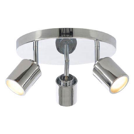 Forum LumenAir Otono 3 Light Spotlight Fitting with Extractor Fan - LUM-26135-CHR