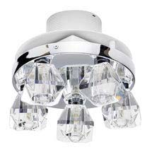 Forum LumenAir Primavera 5 Light Flush Fitting with Extractor Fan - LUM-26136-CHR Medium Image
