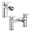 Luna Waterfall Tap Package (Bath + Basin Tap) profile small image view 1