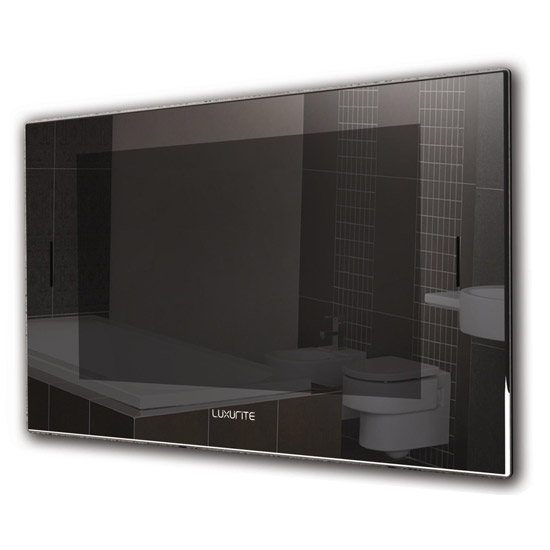 Luxurite - Waterproof LCD Televison - Crystal Black Frame - Various Size Options Large Image
