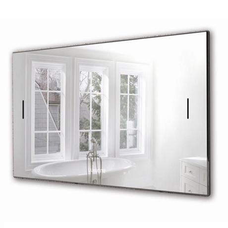 Luxurite - Waterproof LCD Televison - Silver Mirror Frame - Various Size Options