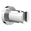 Luxury Chrome Plated Brass Shower Handset Holder profile small image view 1