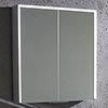 Roper Rhodes Lyric 650 Bluetooth Illuminated Mirror Cabinet - LYC065 profile small image view 1