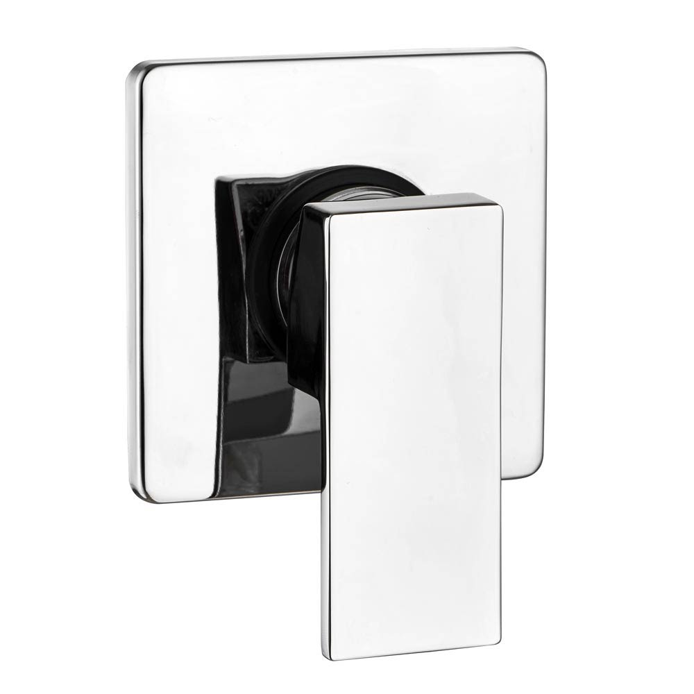Lago Modern Concealed Manual Shower Valve - Chrome profile large image view 1