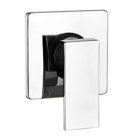 Lago Modern Concealed Manual Shower Valve - Chrome