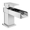 Lago Waterfall Cloakroom Basin Tap Inc. Waste profile small image view 1