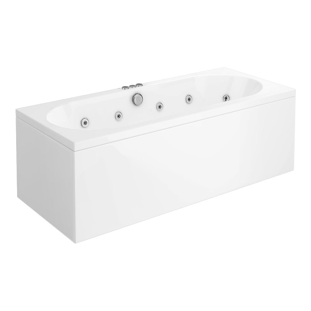 Laguna Whirlpool Spa 12 Jet Round Double Ended Bath profile large image view 4